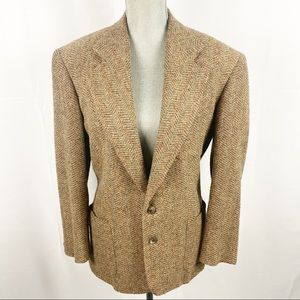 Ralph Lauren vintage wool brown blazer 8